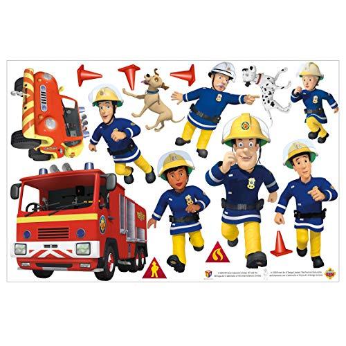 Bilderwelten Wandtattoo - Feuerwehrmann Sam - Helden, 40cm x 60cm