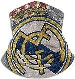 Real Football Madrid del Club Calentador de cuello de microfibra Moda Protectora Anti polvo Protegido de los rayos ultravioleta del sol