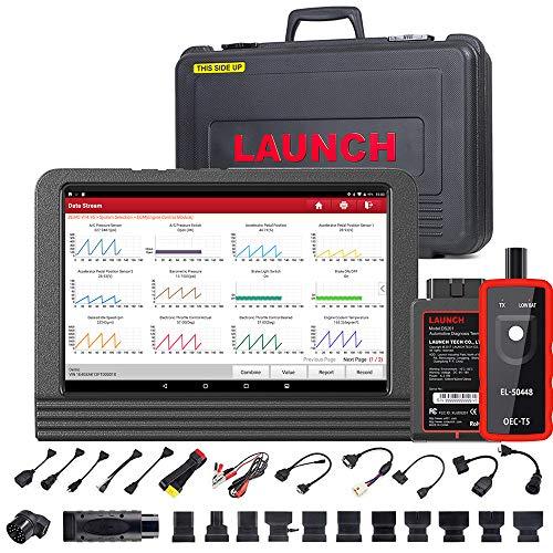 LAUNCH X431 V PRO 4.0 (Same Function as X431 V+) Bi-Directional Scan Tool Full System Diagnostic Scanner,Key Program,31+Service,ECU Online Coding, Active Test,Full Connector Kits, Free Update