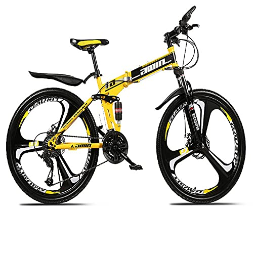 Adult Youth Mountain Bike 26-inch Bicycle Mountain Bike 21-speed 24-speed 27-speed 30-speed Folding Bike Super Lightweight Full Suspension Mountain Bike For Men And Women