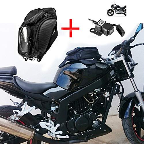 Sacoche De RéServoir De Moto Oxford Sac MagnéTique Sacoche RéServoir AimantéE Sac De Selle Moto Sac éTanche Convient pour Honda Yamaha Suzuki Kawasaki Harley Universel