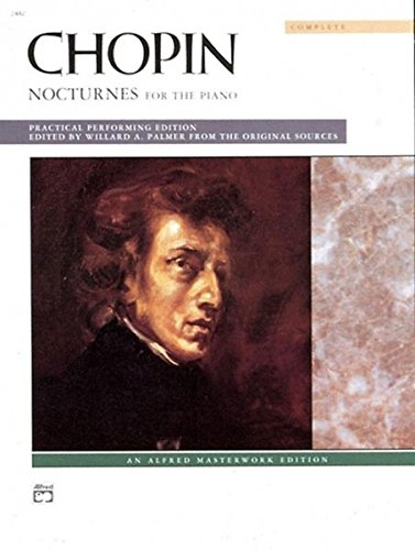 Chopin: Nocturnes (Complete): for the Piano (Alfred Masterwork Editions): Comb Bound Book