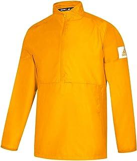 adidas Game Mode Quarter-Zip Jacket - Men's Training M Collegiate Gold/White