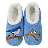 Snoozies Pairables Womens Slippers - House Slippers - Mother Bird - Large