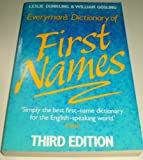 Everyman's Dictionary of First Names