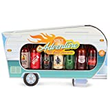 Modern Gourmet Foods, Hot Sauce Camper Gift Set, Flavors Include Smoky Bourbon, Habanero, Mexican Style and More, Pack of 7
