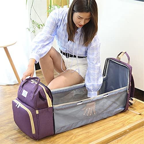 tragbares faltbares Kinderbett Mama Tasche multifunktionaler tragbarer Freizeitrucksack mit großem Fassungsvermögen für Mutter und Baby and