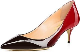 sélection premium f89c9 acbc3 Amazon.fr : louboutin - 4 - 7 cm / Escarpins / Chaussures ...