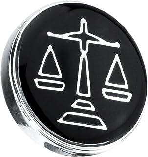 Fenteer Spilla Pin in Ottone Abbellimento da Abbigliamento Distintivo a Bavero con Colletto