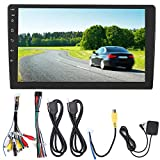 EBTOOLS Coche MP5 Bluetooth, 9in 2Din Dash Player USB Bluetooth FM WiFi Pantalla táctil Radio estéreo para Android 8.1