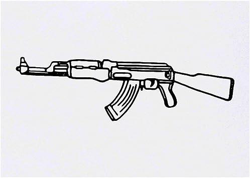 Symbol Ak47 Cool Tattoo Drawings Ak47 Tattoo