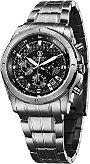 Olivera OGS711-BLACK/SILVER Watch For Men