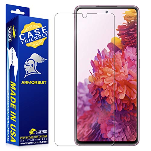 ArmorSuit MilitaryShield Screen Protector Designed for Samsung Galaxy S20 FE / S20 FE 5G Case Friendly Anti-Bubble HD Clear Film