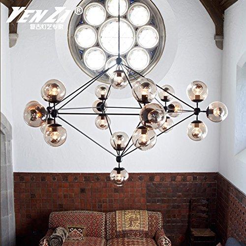 Quietness @ Moderno Lampadario LED Industrie Creative Loft Lampadario Per Sala Da Pranzo Camera Da Letto Soggiorno Magazzino Testa 15