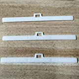 58bh 10pcs Pesos de Ventana Cadena de Enlace Slat Percha Fácil Instalación Vertical Persianas Reparación Clips Accesorios de Cortina