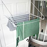 Caravan over door or window clothes airer