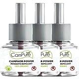 Mangalam CamPure Camphor Power Mosquito Liquid Vaporiser (Refill - Pack of 3)