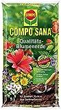 COMPO SANA Qualitäts-Blumenerde mit 8 Wochen Dünger für alle Zimmer-