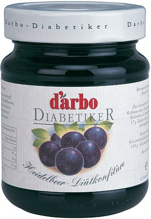 Darbo Reform Konfitüre - Heidelbeer - 330 g