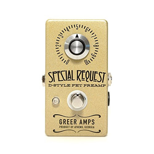 Greer Amps Special Request Guitar Boost Pedal