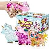 AINOLWAY Unicorn Squishy Stress Balls Toy (Paquete de 3) para niñas, niños o Adultos - Colorido, con Bolas de Gel en el Interior - Promueve la ansiedad y el Alivio del estrés