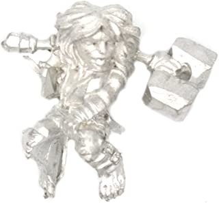 Stonehaven Halfling Berserker Rider Miniature Figure for 28mm Table Top Wargames - Made in USA