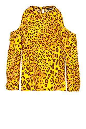 True Religion Damen Bluse Gelb XS