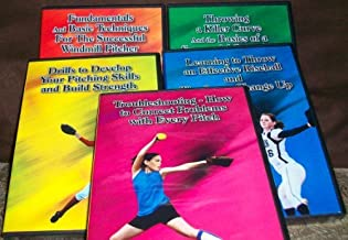 Ernie Parker's 5 DVD Set - Basics and the Drop, Curve and Screw, Rise and Change Up, Drills for Pitching and Strength, and Troubleshooting Pitching Problems by Ernie Parker