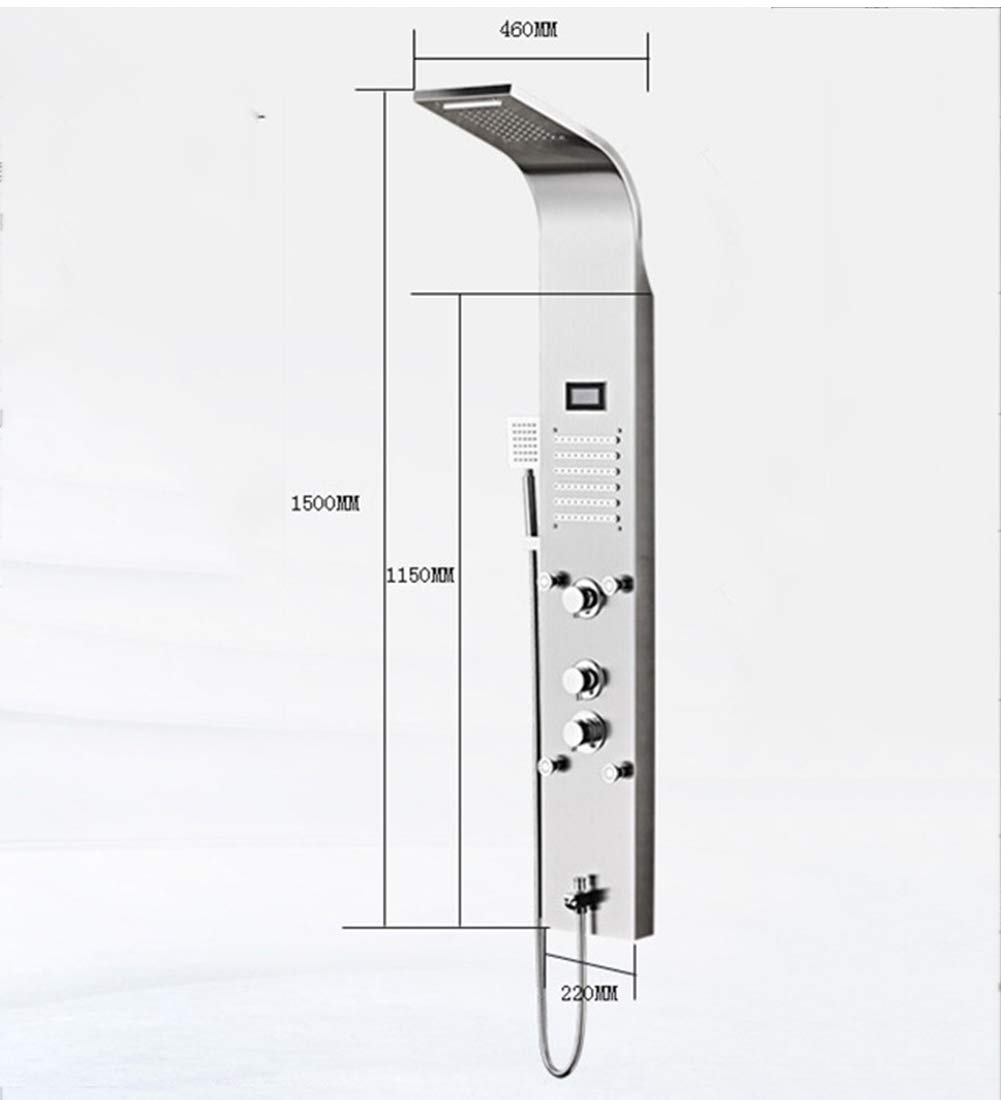 SJSF L Cascada Ducha De Lluvia Panel De Ducha Torre De Ducha ...
