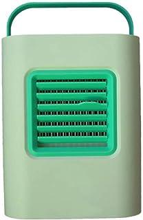 WYJW Ventilador de Escritorio USB Mini Ventilador de Aire Acondicionado más Ventilador de refrigeración por Agua Circulador de Aire Enfriador humidificador Ventilador de Escritorio pequeño para d