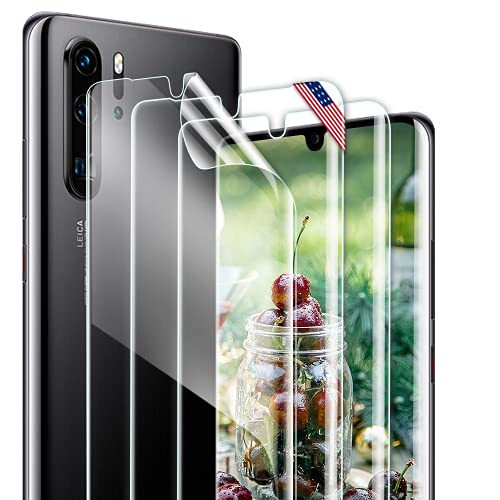 [3 Stück] Schutzfolie Kompatibel Mit Huawei P30 Pro, Huawei P30 Pro Folie Blasenfrei, Hohe Empfindlichkeit, HD-Bildschirmschutzfolie Screen Protector für Huawei P30 Pro