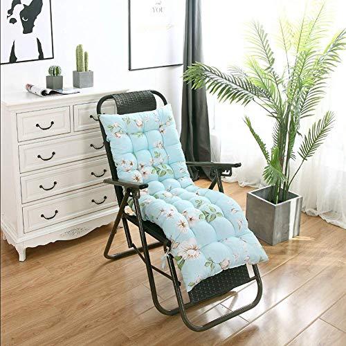 AISHANG Recliner Chair Cushion Floral Print Garden Chair Sun Lounger Cushions,PEP Thickened Outdoor Portable Travel Matress Backrest Lounger Cushion-2pc-40x90cm