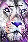 Lion nightcore art notebook - Inspirational Journal - Notebooks - Journals for Women & Girls - Notebook to Write In to ...: A very good gift
