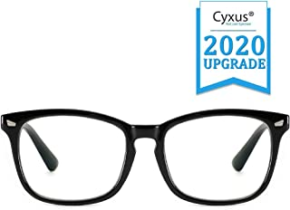 Cyxus Blue Light Blocking Glasses Square Computer Eyewear Clear Lens Eyeglasses Frame
