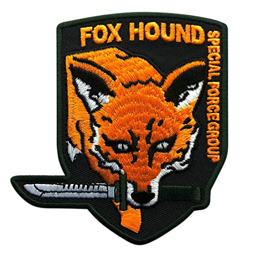 Metal Gear Fox Hound Special Force Original Logo Patch [Iron on sew on - FY1]