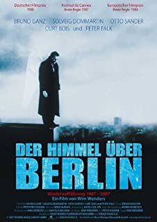 b直輸入、小ポスター、ドイツ版「ベルリン・天使の詩」ヴィム・ヴェンダース監督