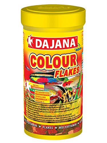 Colour Dajana Flakes-nourriture spéciale en flocons pour tous les poissons