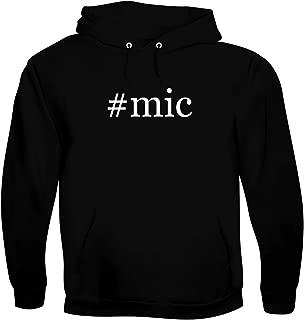 #mic - Men's Hashtag Soft & Comfortable Hoodie Sweatshirt Pullover