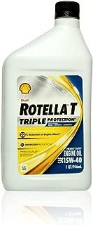 Shell ROTELLA T 15W40 CJ4 Diesel Oil, 1 Quart
