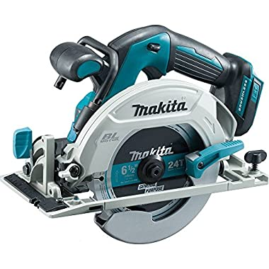 Makita XSH03Z 18V LXT Lithium-Ion Brushless Cordless 6-1/2  Circular Saw, Bare Tool Only
