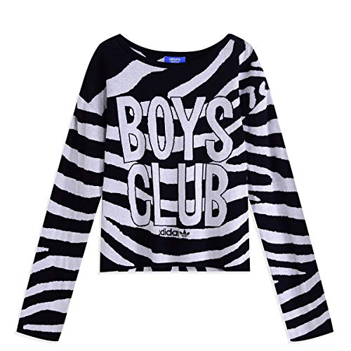 Adidas Originals Boys Club Zebra Knit Pullover
