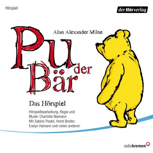 Pu der Bär audiobook cover art