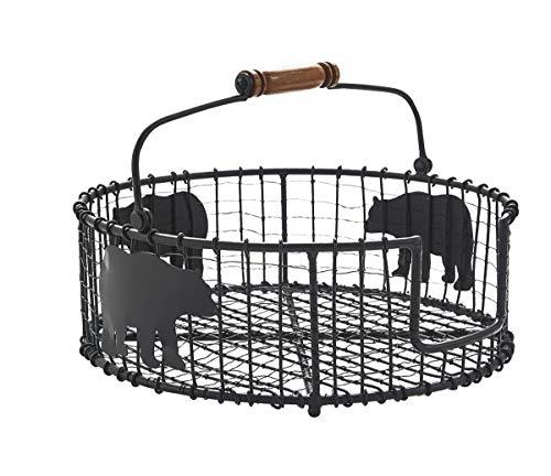 Park Designs Black Bear Wire Plate Holder