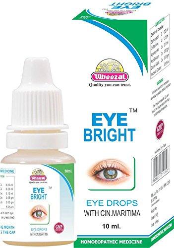 Wheezal Eye Bright Drops 10 ml (PACK OF 5)