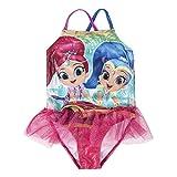 Cerdá Bañador Shimmer and Shine Trikini, Rosa (Fucsia C0, 5 para Niñas