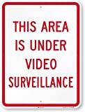 SmartSign 'This Area Is Under Video Surveillance' Sign | 18' x 24' 3M High Intensity Grade Reflective Aluminum