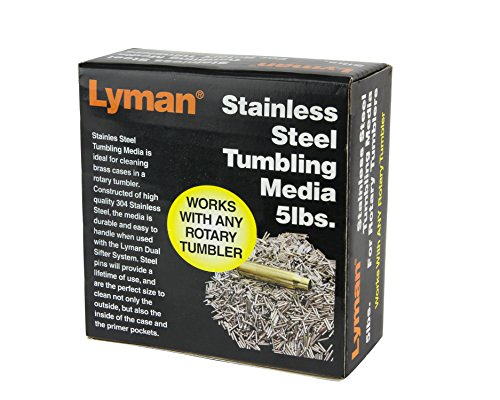 Lyman Stainless Steel Cleaning Media 5Lbs LY7631375