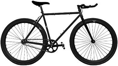 Zycle Fix ZF-BKHL-55 Black Hole Fixed Gear Bike, 55cm/One Size Frame