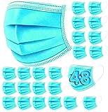 48 Mascarillas Higienicas The Pink House. Máscaras no quirurgicas, Desechables de 3 Capas de protección · Certif. CE · Protección y Seguridad