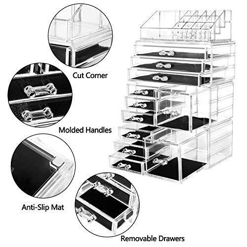 HBLIFE『超大容量化粧品収納ボックス』